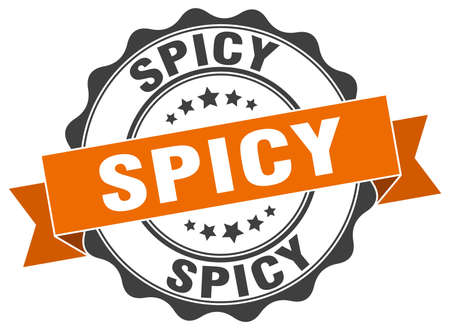 spicy: spicy stamp. sign. seal