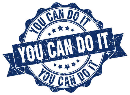do it: you can do it stamp. sign. seal