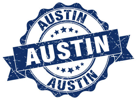 austin: Austin round ribbon seal