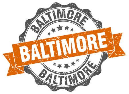Baltimore round ribbon seal