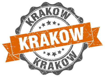 krakow: Krakow round ribbon seal