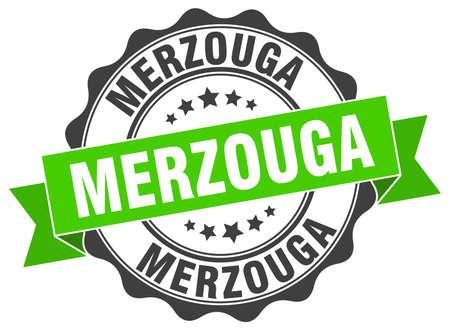 merzouga: Merzouga round ribbon seal