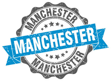 manchester: Manchester round ribbon seal