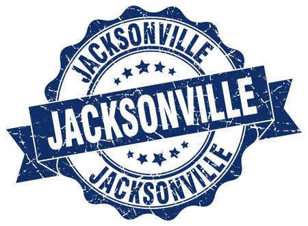 Jacksonville round ribbon seal