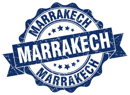 Marrakech round ribbon seal