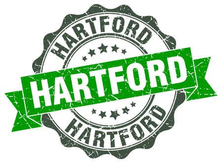hartford: Hartford round ribbon seal