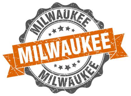 Milwaukee: Milwaukee round ribbon seal
