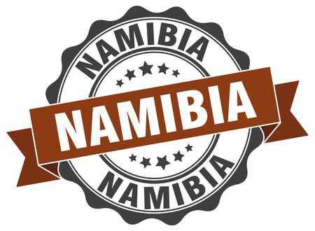 Namibië round bandrob Vector Illustratie