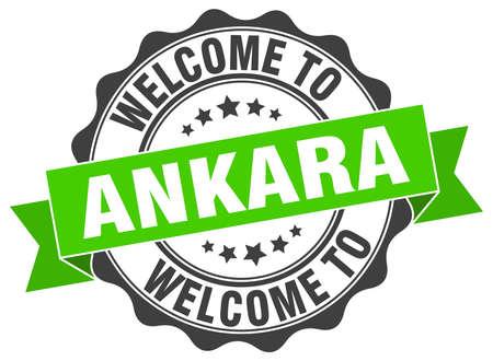 Ankara round ribbon seal