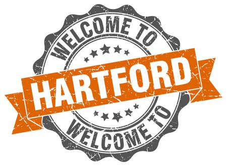 Hartford round ribbon seal
