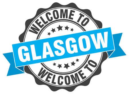 glasgow: Glasgow round ribbon seal