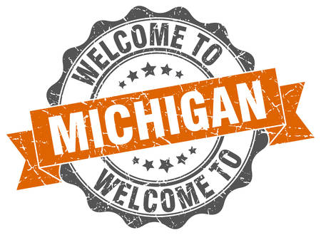 Michigan round ribbon seal