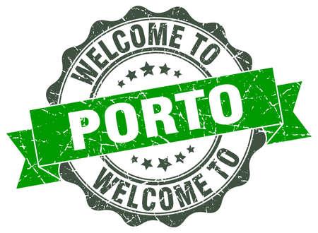 Porto round ribbon seal