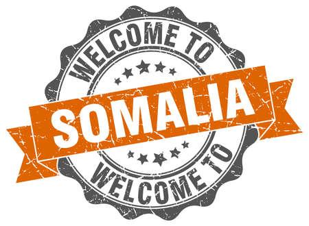 Somalia round ribbon seal