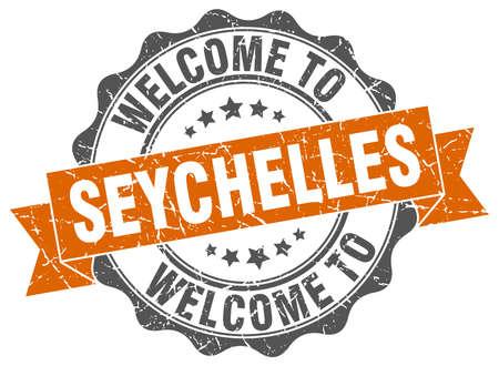 Seychelles round ribbon seal