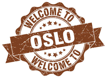 Oslo round ribbon seal