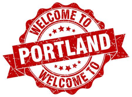 Portland round ribbon seal