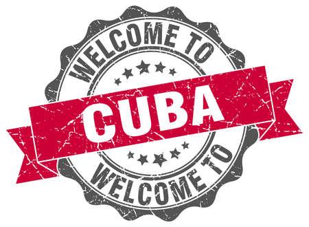 Cuba round ribbon seal