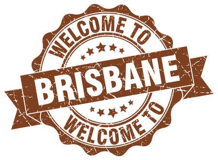 Brisbane round ribbon seal