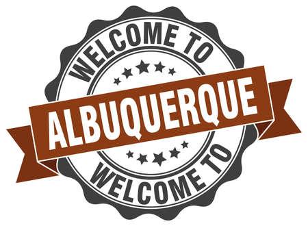 albuquerque: Albuquerque round ribbon seal