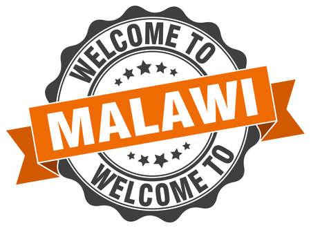 Malawi round ribbon seal