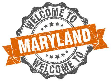 Maryland round ribbon seal
