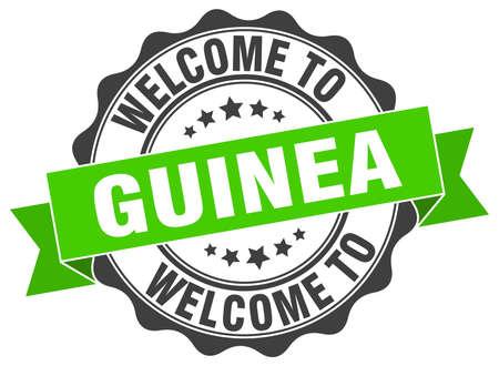 Guinea round ribbon seal