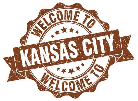 kansas: Kansas City round ribbon seal