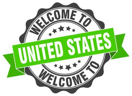 United States round ribbon seal