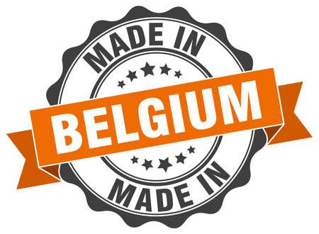 made in belgium: made in Belgium round seal