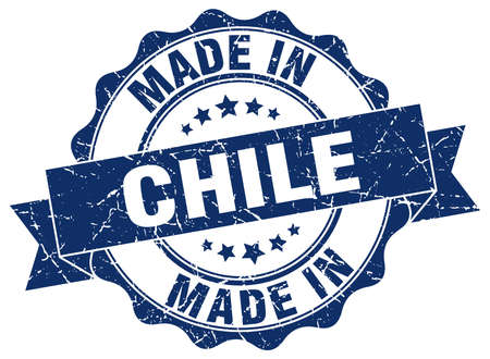 made in Chile round seal Illustration