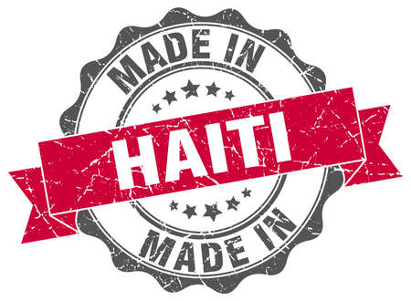 made in Haiti round seal
