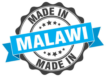 made in Malawi round seal