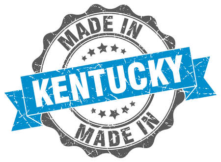 made in Kentucky round seal