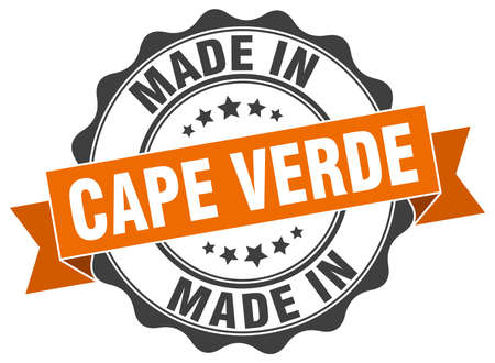 made in Cape Verde round seal