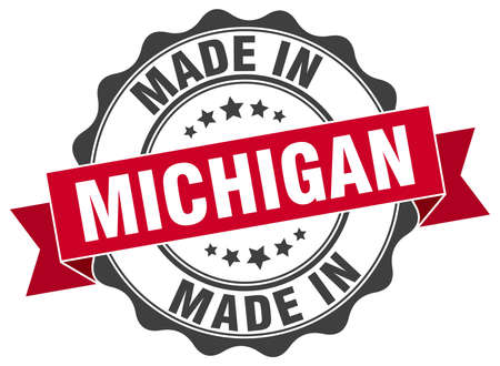 Made in Michigan round seal