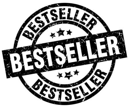 bestseller round grunge black stamp