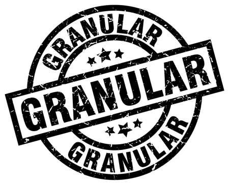 granular round grunge black stamp Çizim