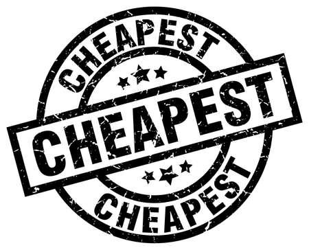cheapest round grunge black stamp