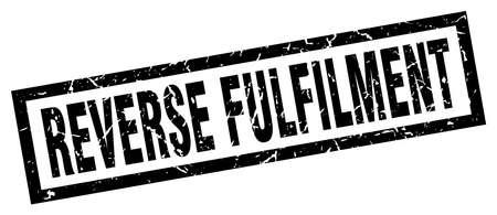 reverse: square grunge black reverse fulfilment stamp