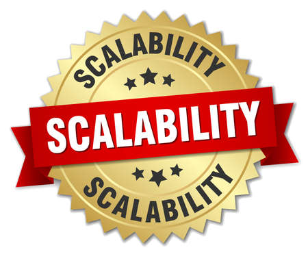 scalability round isolated gold badge