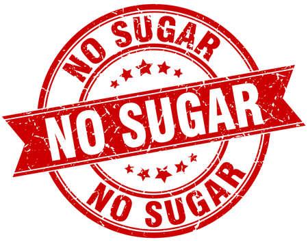 설탕 라운드 그런 지 리본 스탬프