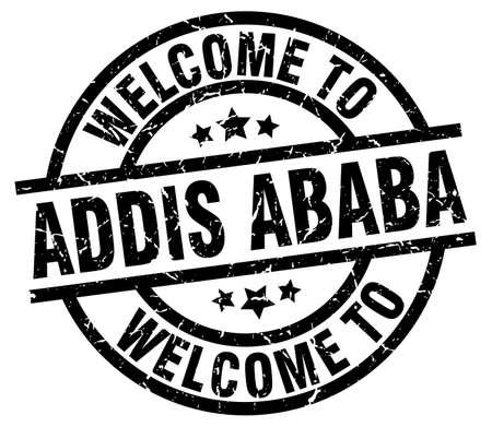 Benvenuti nel timbro nero di Addis Abeba