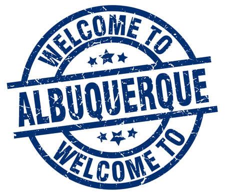 albuquerque: welcome to Albuquerque blue stamp