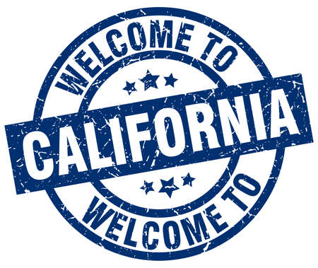 welcome to California blue stamp