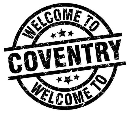 welcome to Coventry black stamp