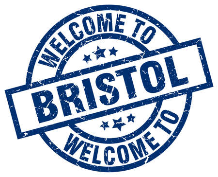 welcome to Bristol blue stamp