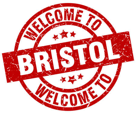 welcome to Bristol red stamp