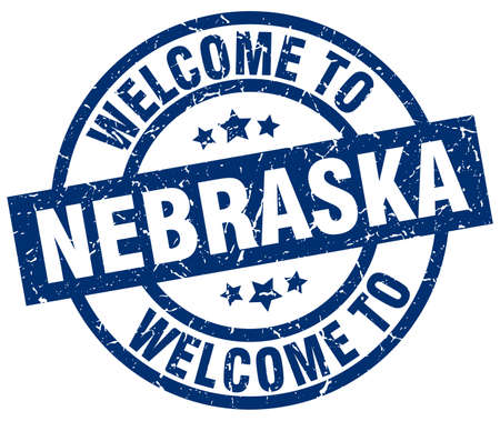 welcome to Nebraska blue stamp