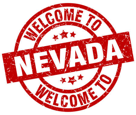 welcome to Nevada red stamp